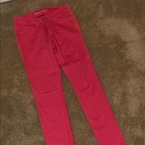 AMERICAN EAGLE CORAL JEANS
